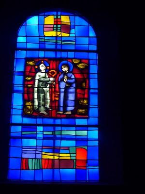 Remise des clefs à St. Pierre (Evangile selon St. Matthieu, XVI, versets 16-19)