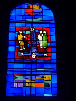La mort de St. Pierre (Evangile selon St. Jean, XXI, versets 20-23) - DON DE LA FAMILLE HAAG