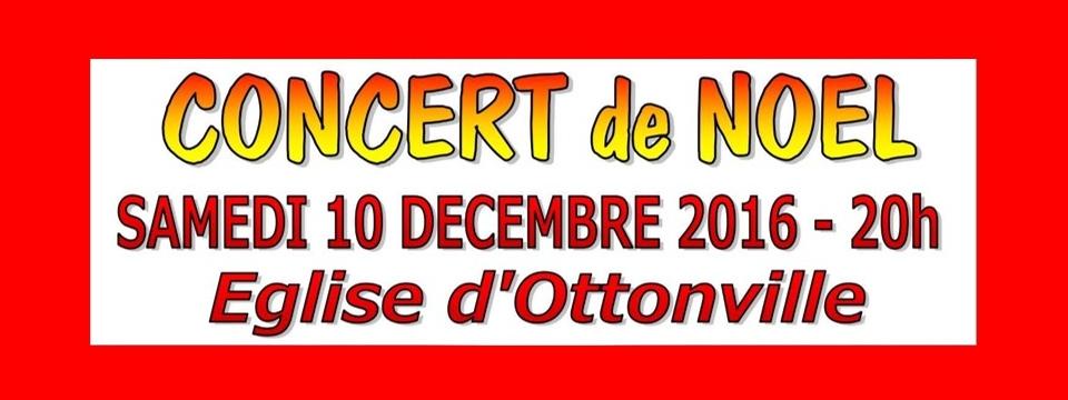 Concert de Noël à Ottonville