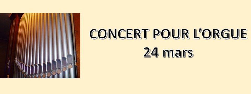Concert pour la rénovation de l'orgue
